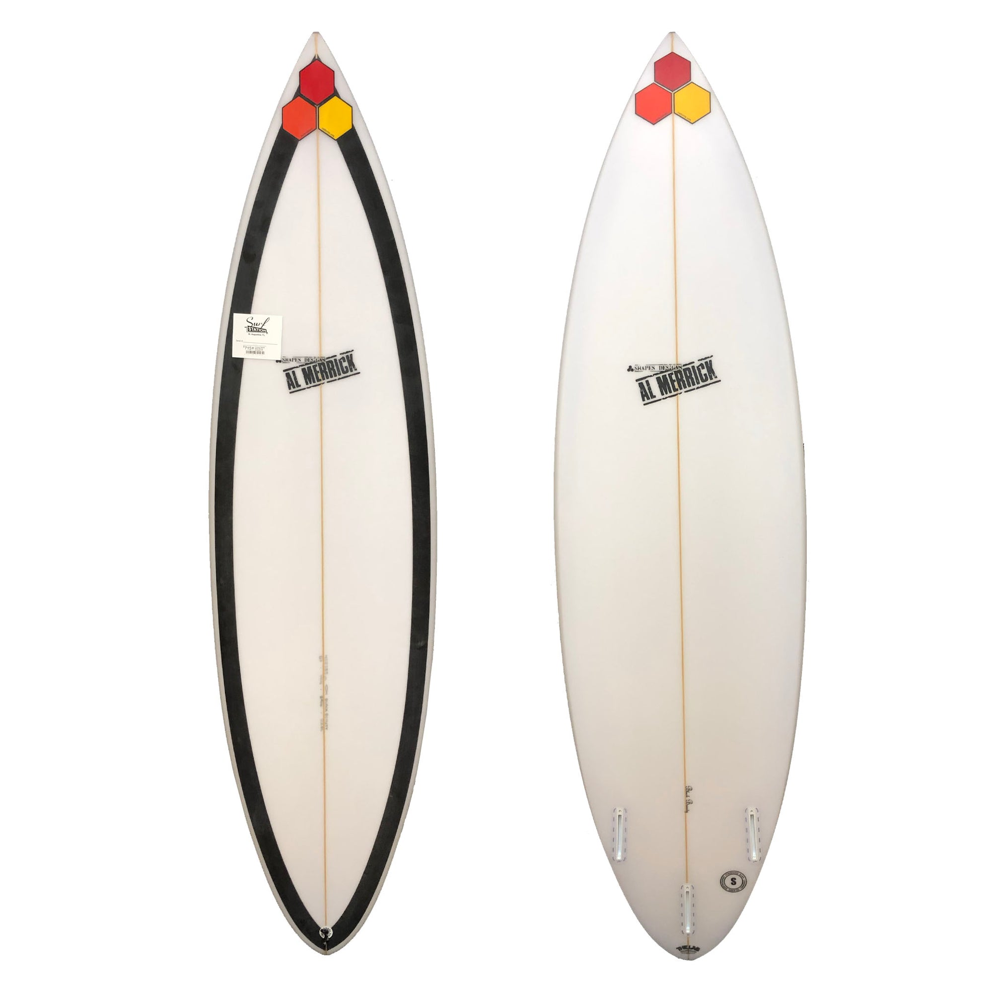 Channel Islands Black Beauty Discount Surfboard - Futures