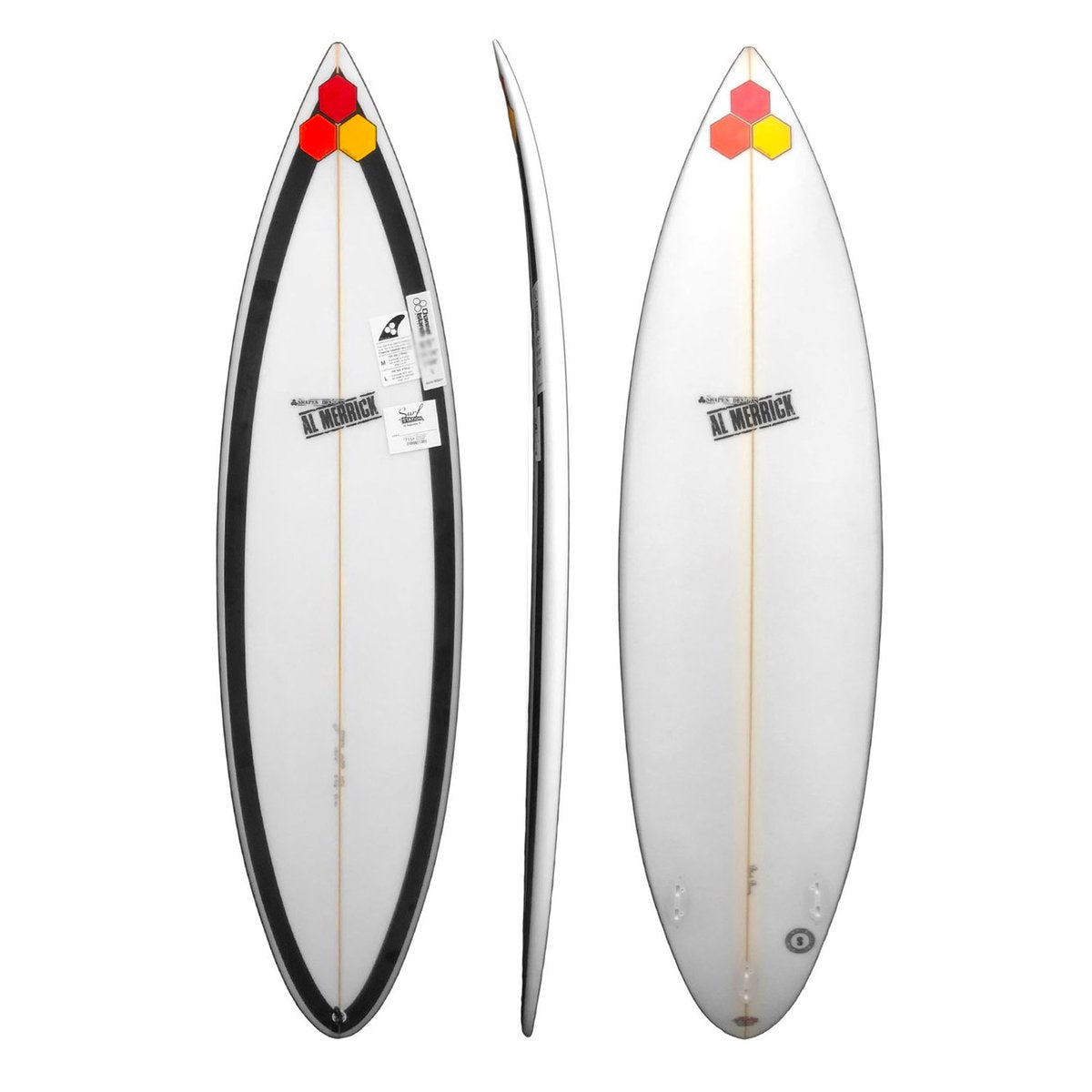 Channel Islands Black Beauty Surfboard - FCS I