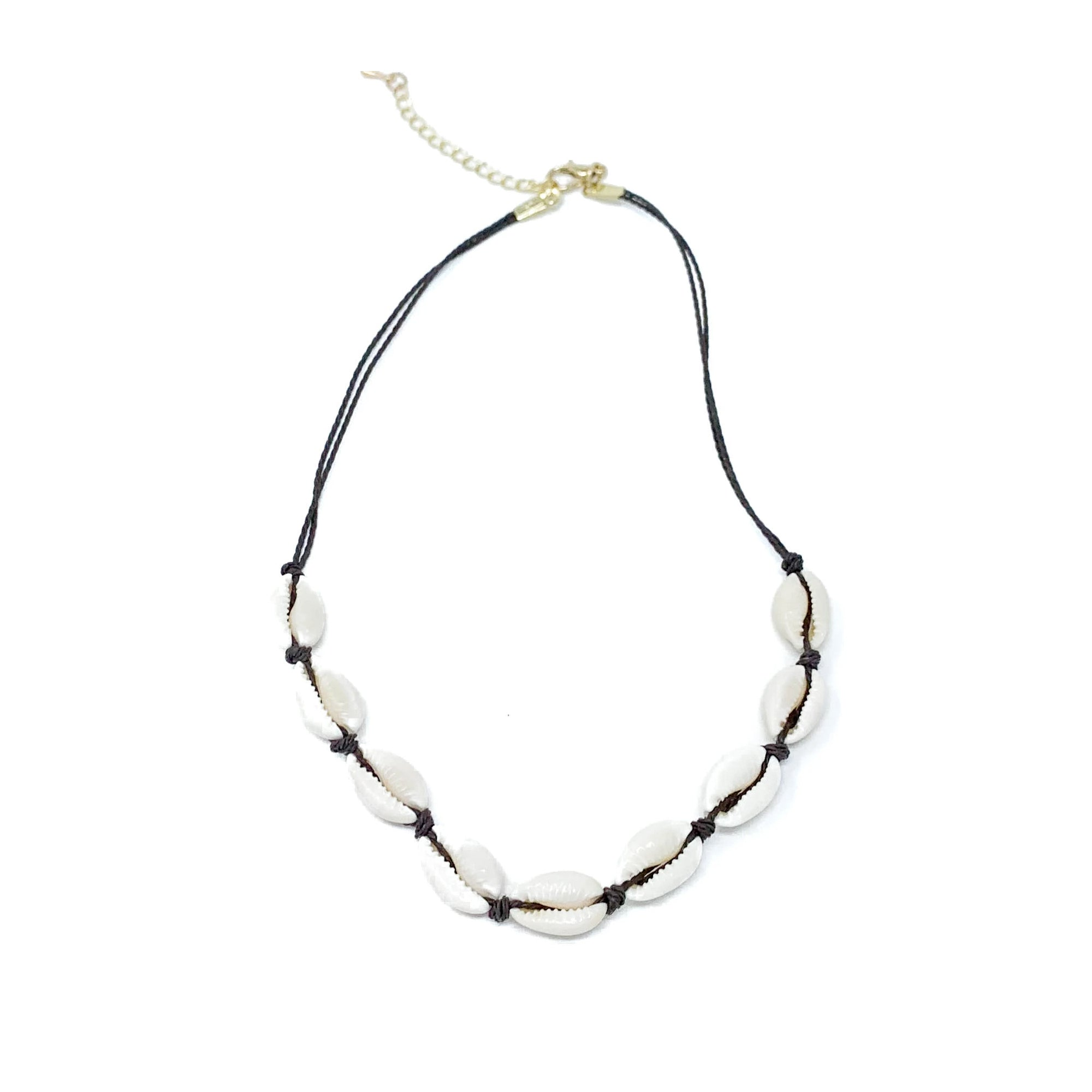 Charming Shark Cowrie Choker Necklace