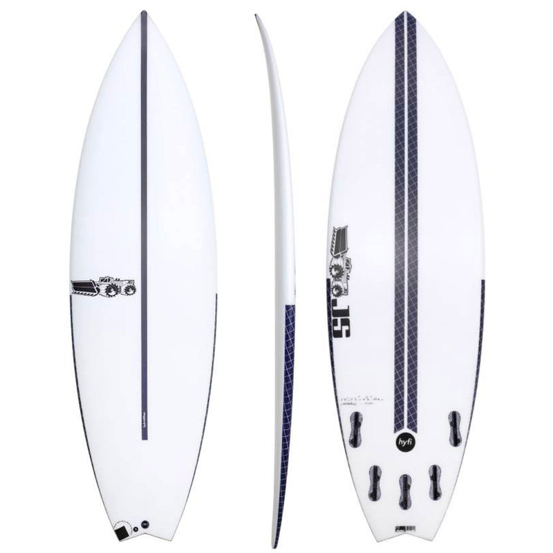 JS Blak Box 3 Swallow Surfboard - HYFI