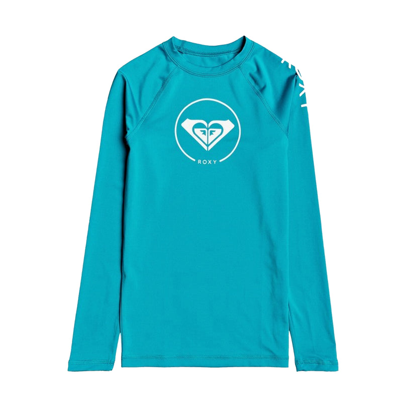 Roxy Beach Classics Youth Girl L/S Rashguard