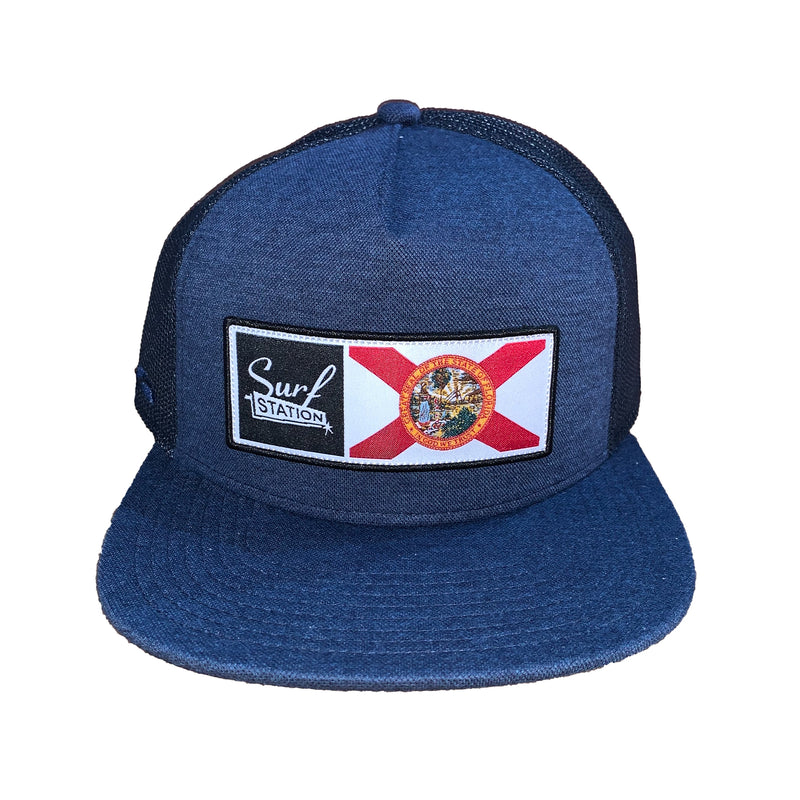 Surf Station X Florida Men's Trucker Hat