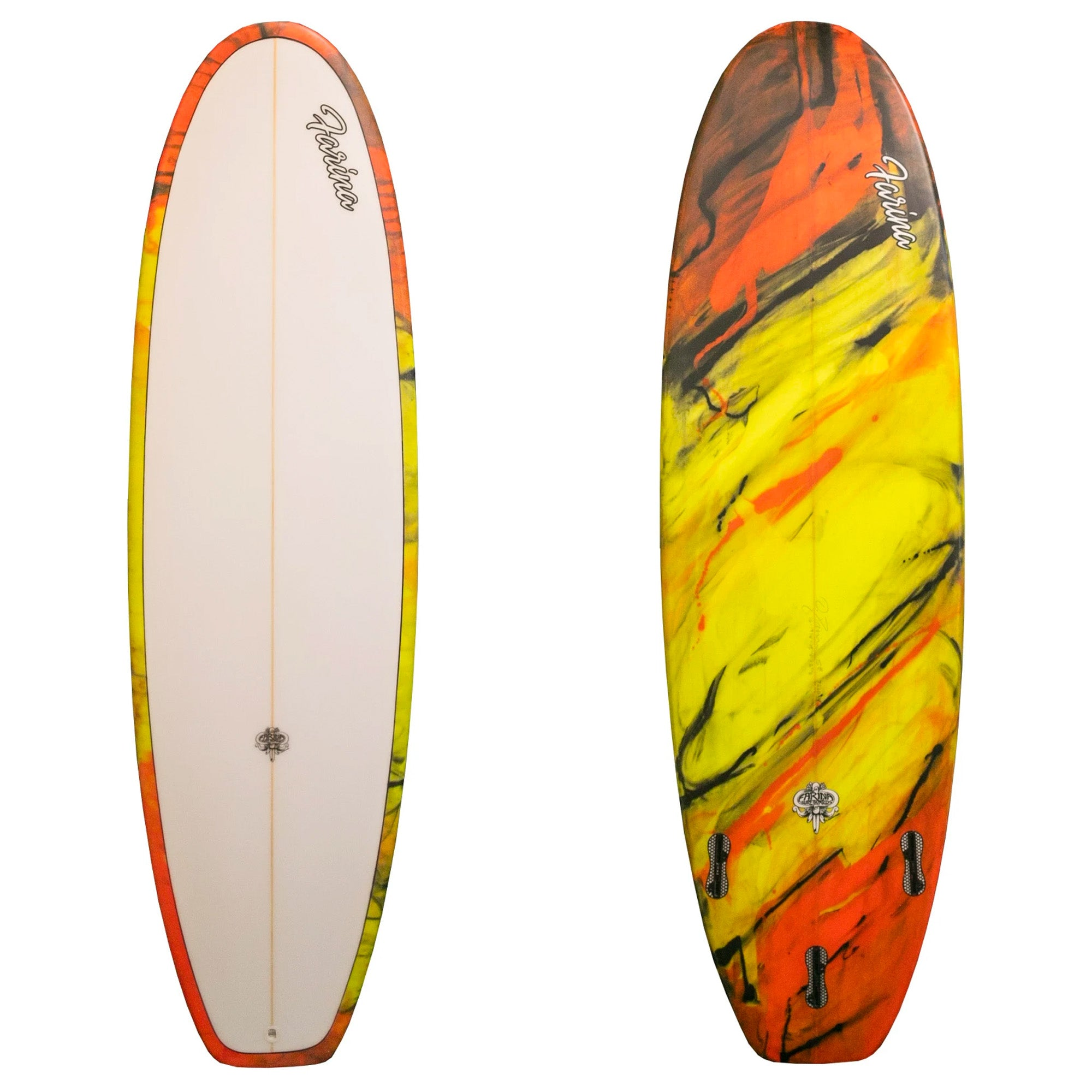 Farina Handcrafted 5'8 Blunt Nose Surfboard