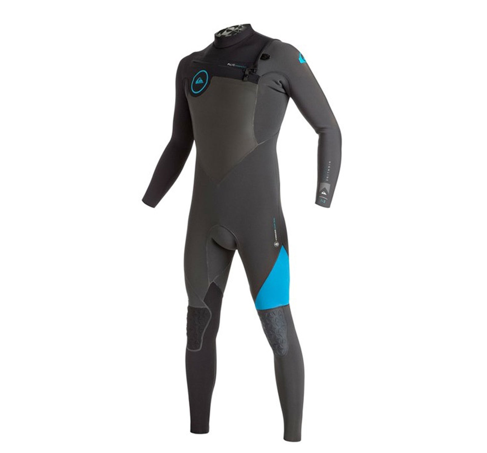 Quiksilver Highline Performance 3/2mm Men's Chest Zip Fullsuit Wetsuit