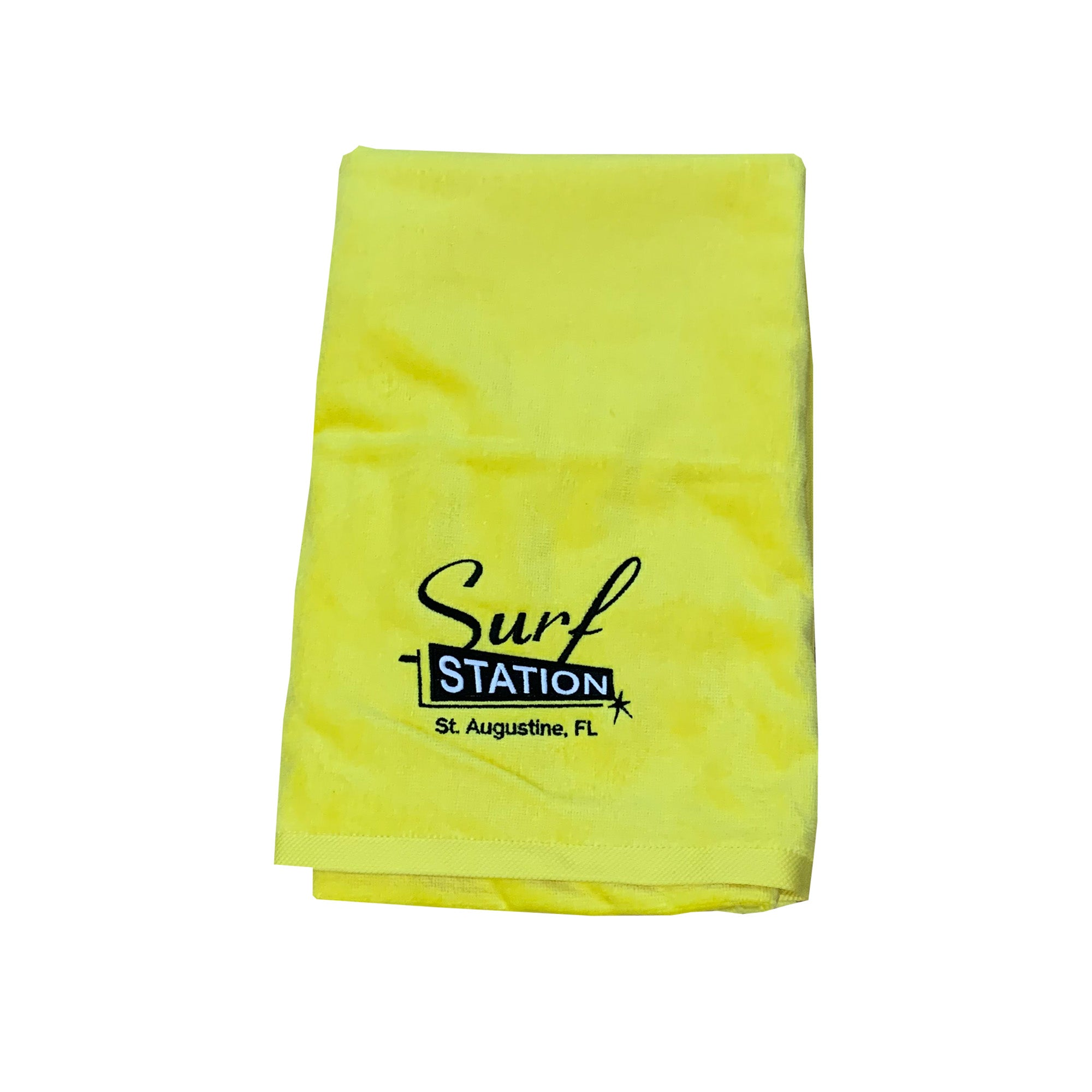 Surf Station Classic Colors Towel - Yellow