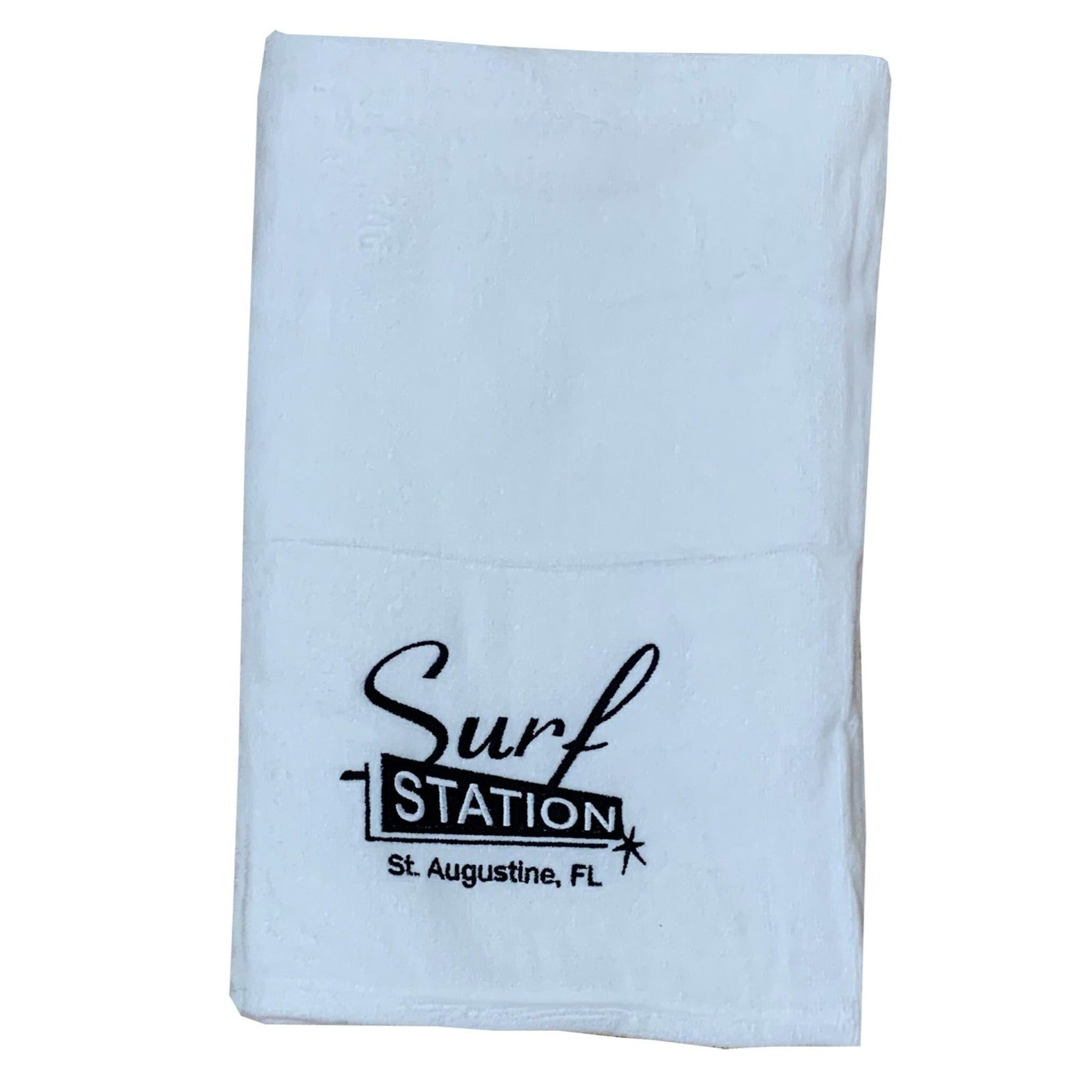 Surf Station Classic Colors Towel - White