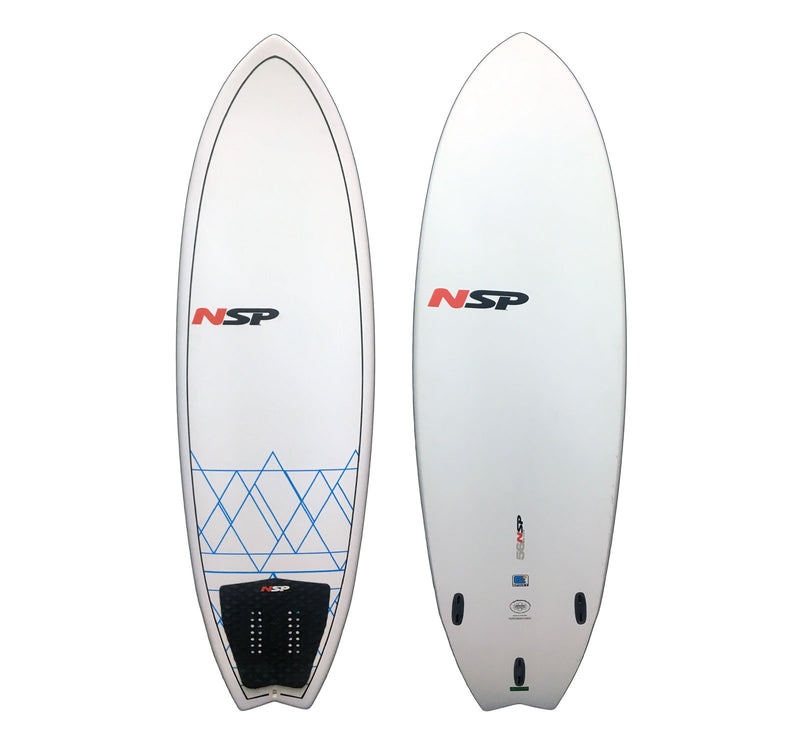 NSP E2 Fish Surfboard