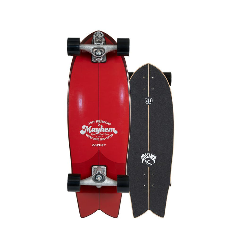 Lost X Carver C7 RNF Retro Surfskate Complete