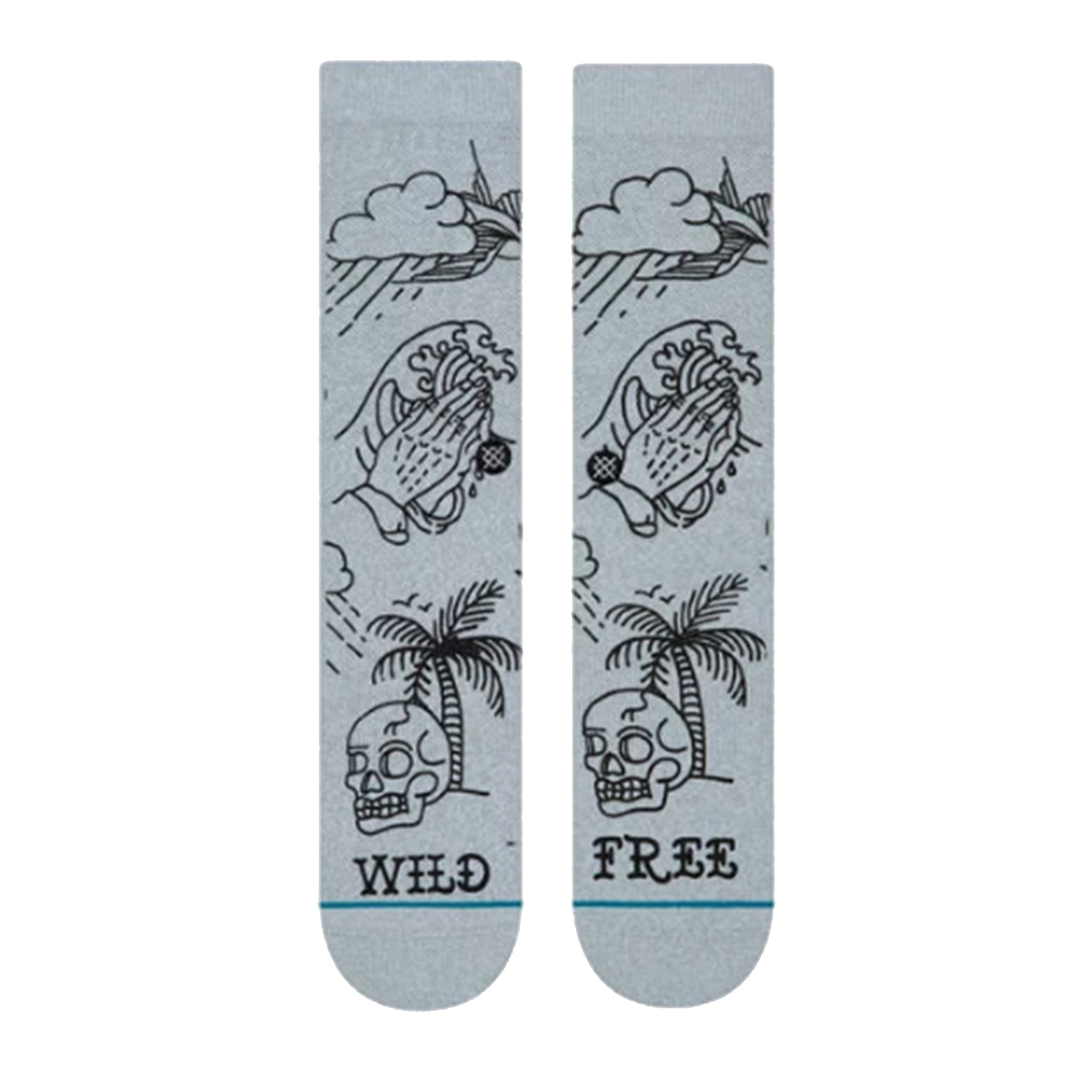 Stance Wild And Free Men's Socks