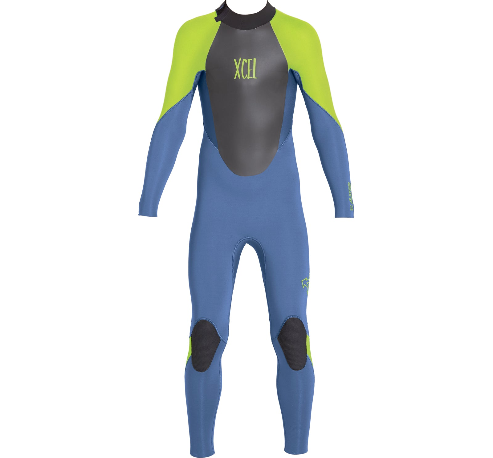 Xcel Axis 3/2mm Youth Back Zip L/S Fullsuit Wetsuit