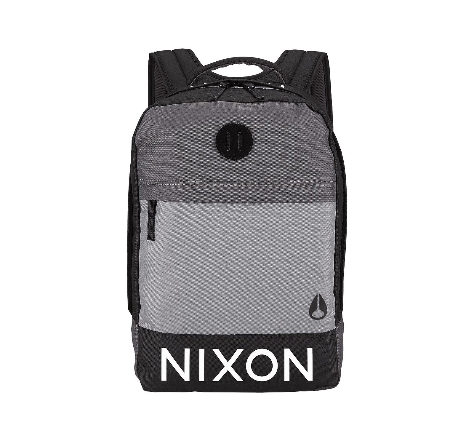 Nixon Beacons Men's Backpack - Black/Dark Grey