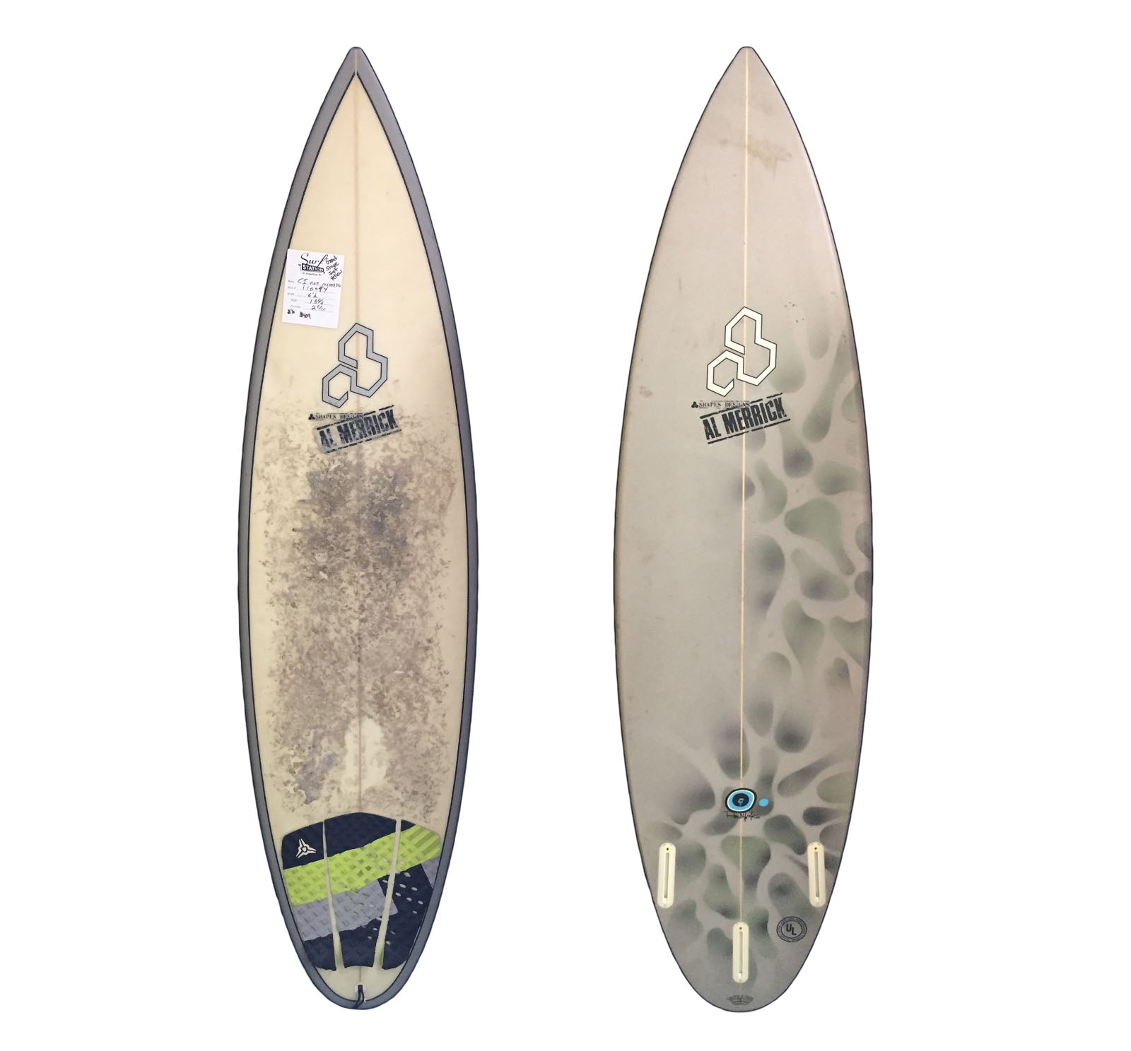 Channel Islands Machado 6'2 Used Surfboard