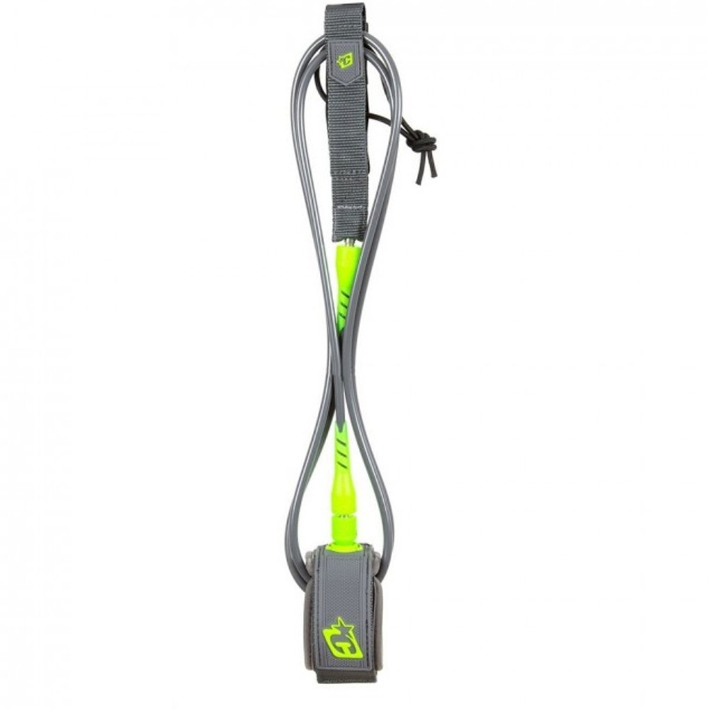 Creatures of Leisure 6' Pro Surfboard Leash - Lime