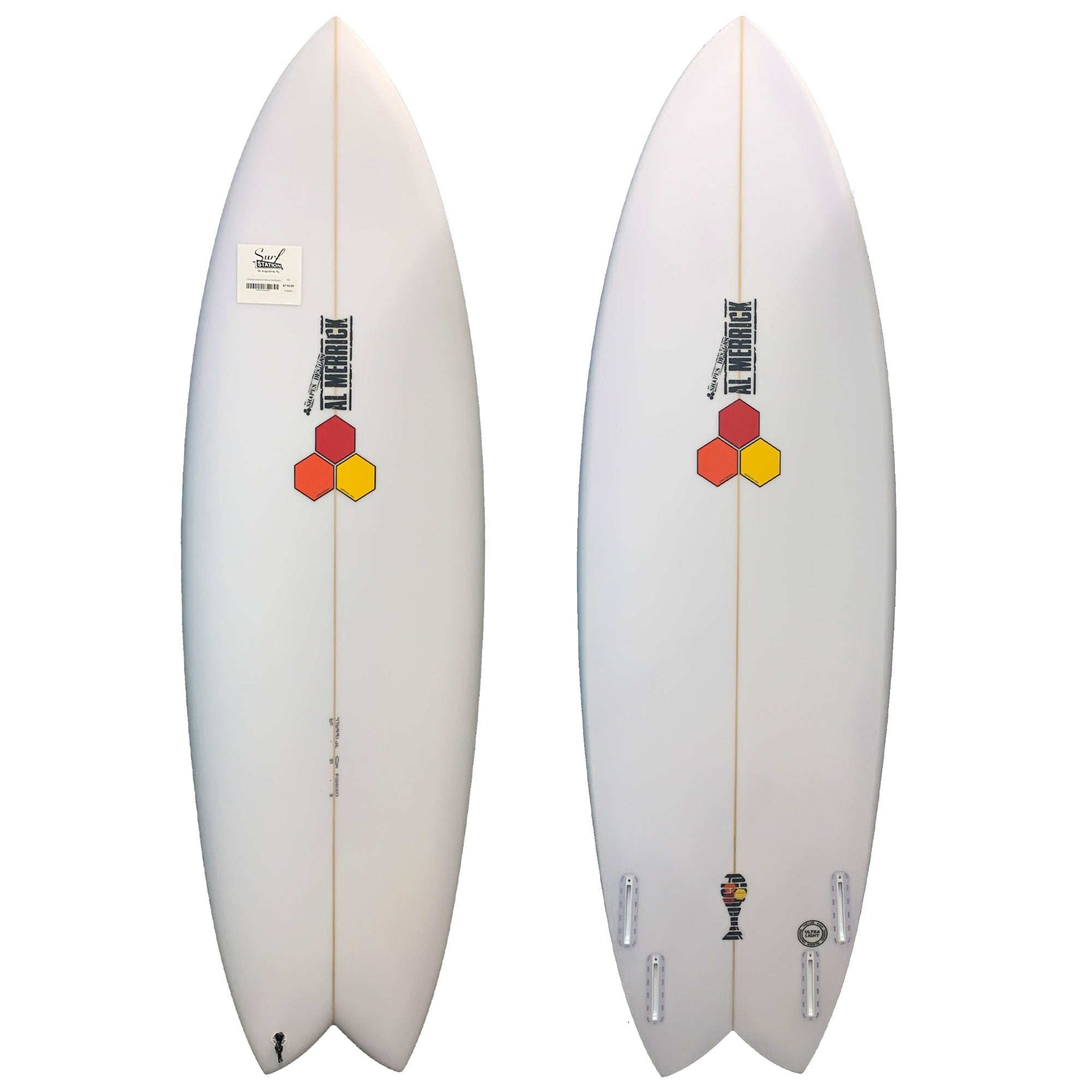Channel Islands Fishcuit Surfboard - Futures