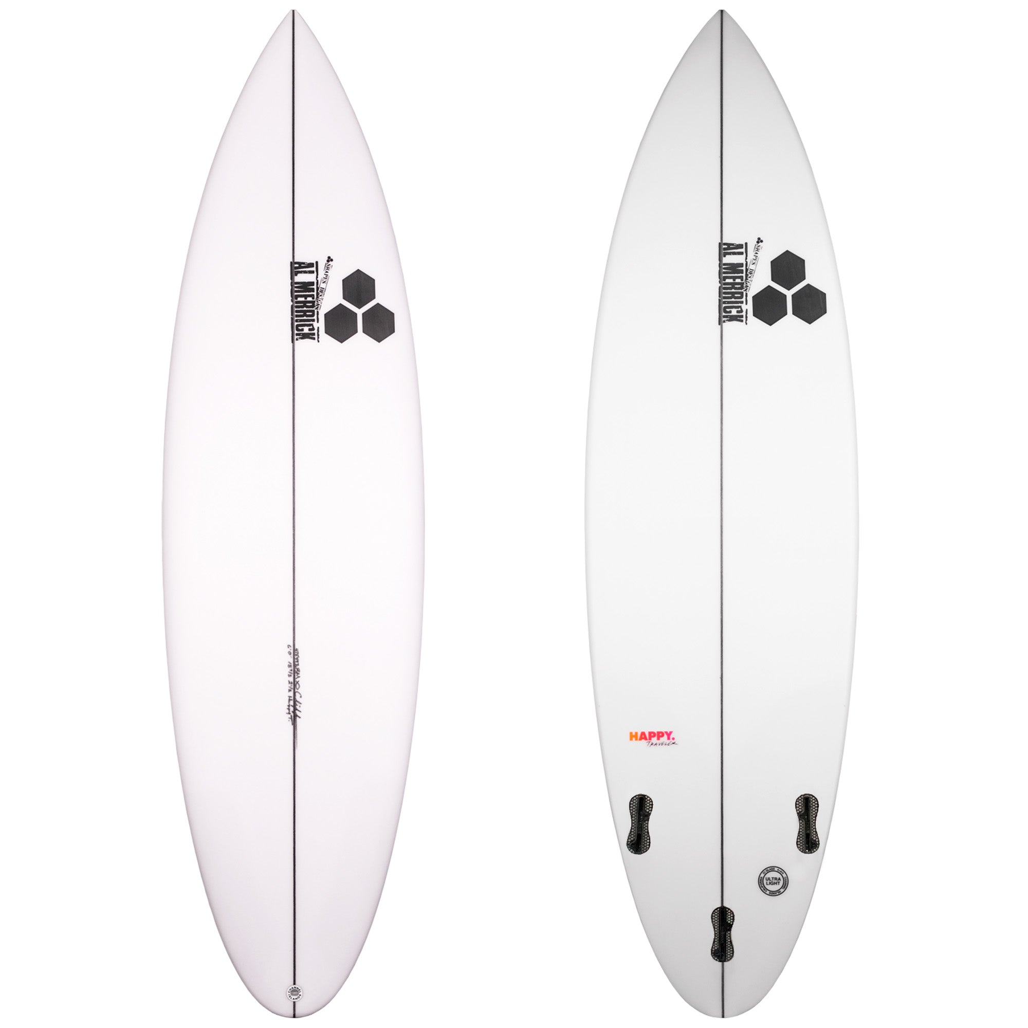 Channel Islands Happy Traveler Pro Surfboard - FCS II