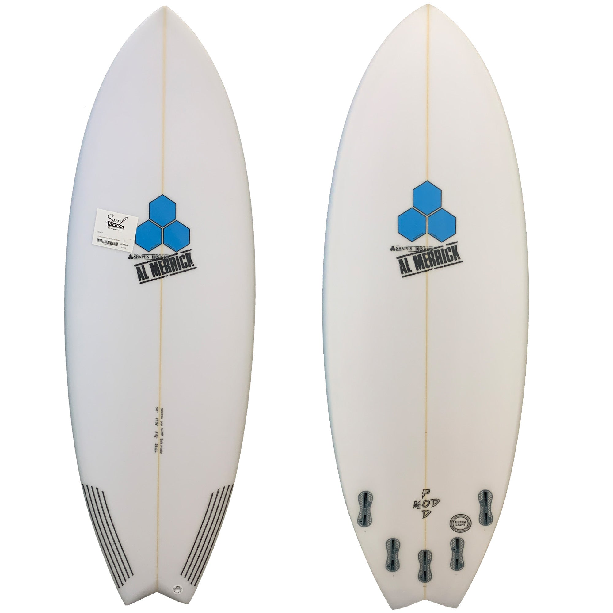Channel Islands Pod Mod Surfboard - FCS II
