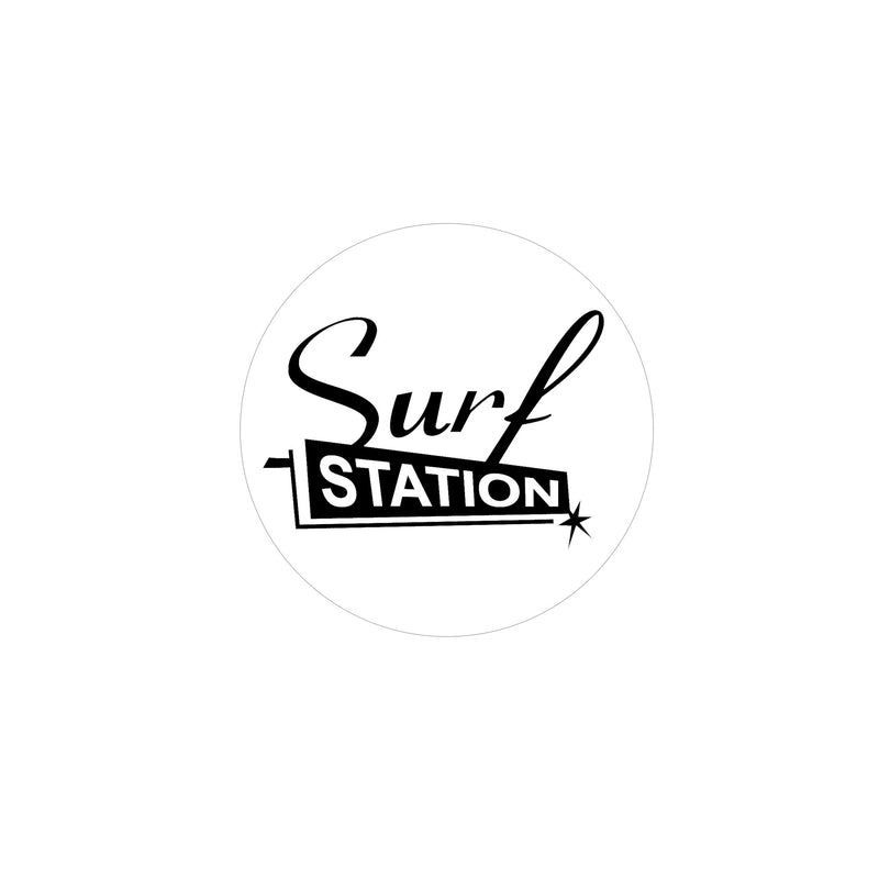 Surf Station Vegas Circle Sticker