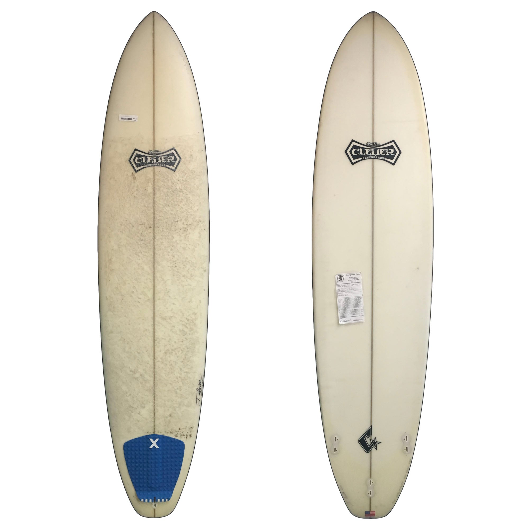 Clever Funshape 7'10 Used Surfboard