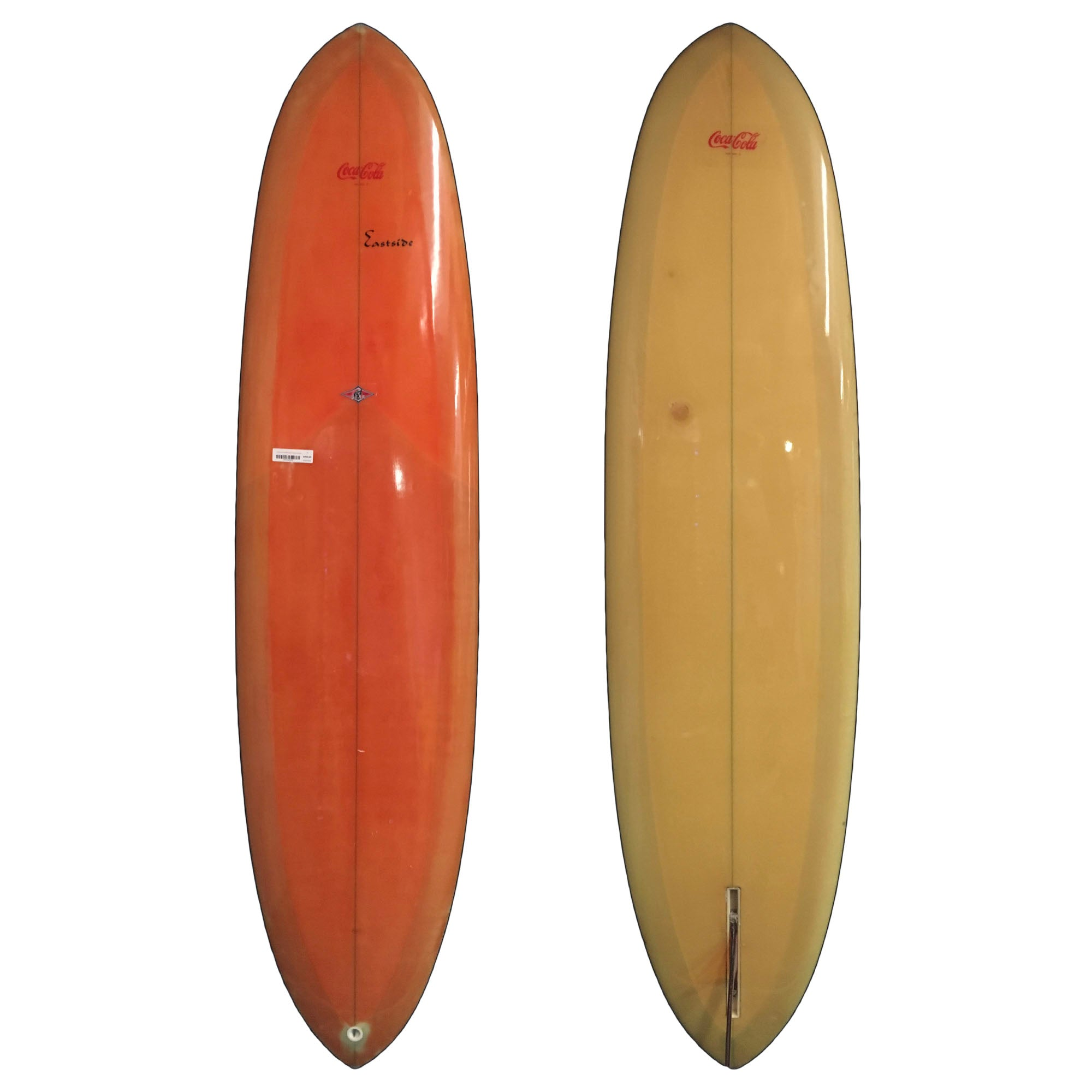 East Side 1970's Mid-Length Collector Surfboard