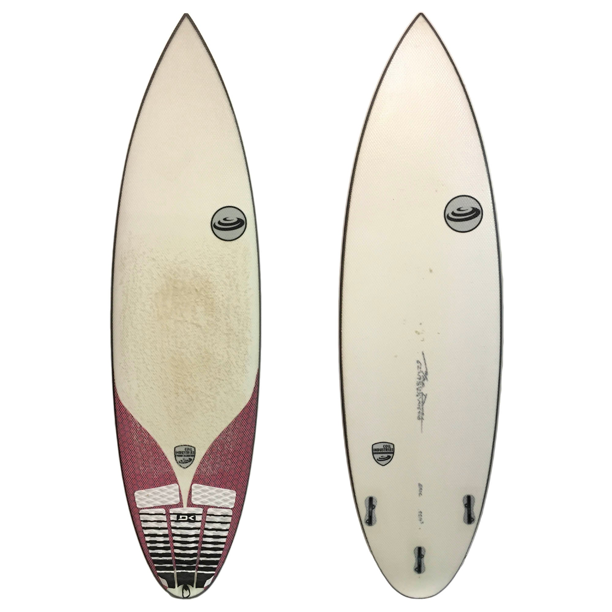 Coil Industries 6'2 Used Surfboard