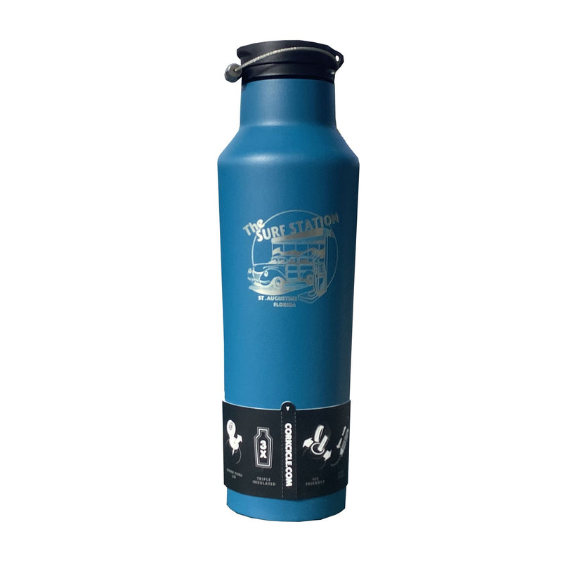 Surf Station 25oz Canteen - Blue
