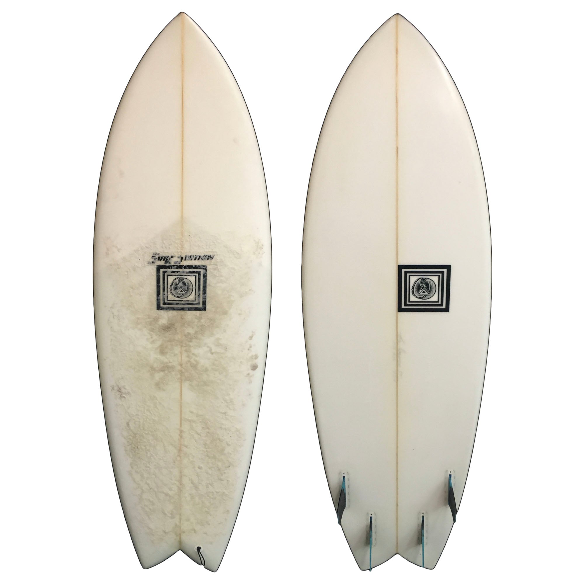 COS Quad Fish 5'5 Used Surfboard