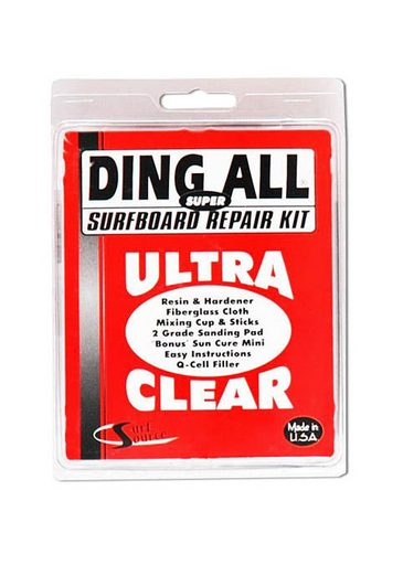 Ding All Ultra Clear Super Polyester Repair Kit 4oz