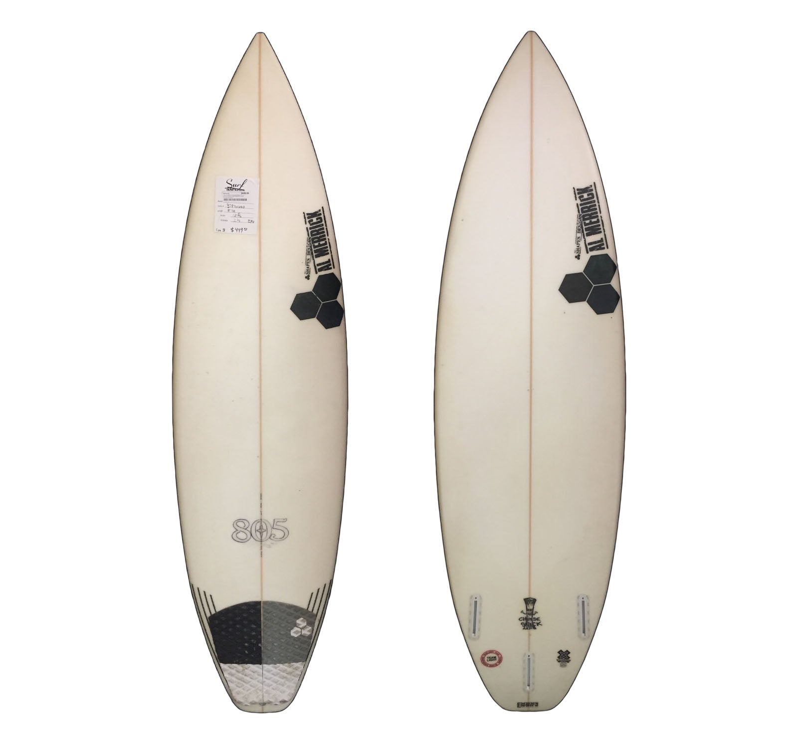 Channel Islands Cheesestick 5'10 Used Surfboard