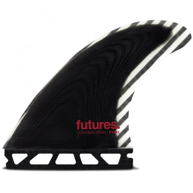 Futures Pyzel Control Series Fiberglass Medium Tri Fin Set