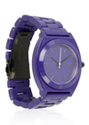 Nixon Time Teller Women's Watch - Purple Band/Purple Face