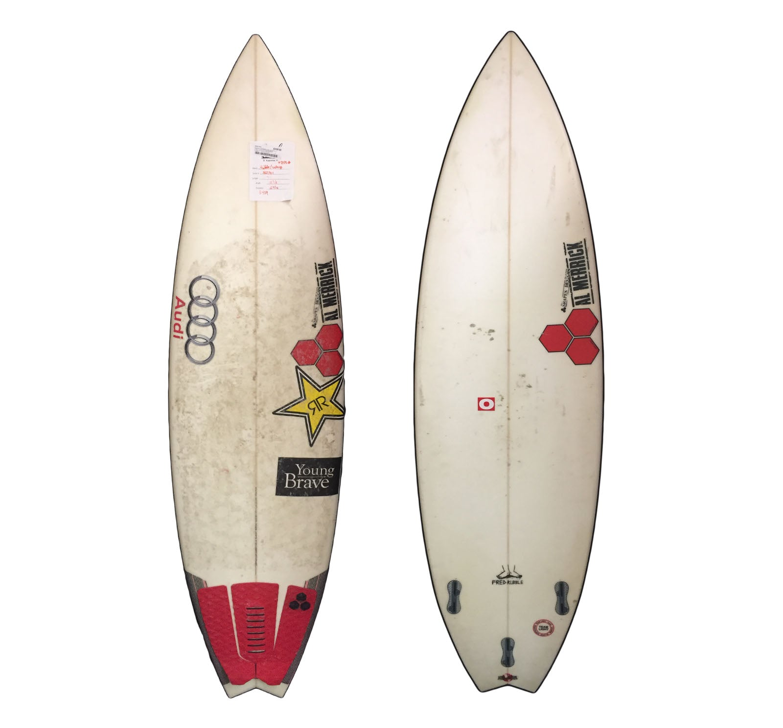 Channel Islands Rubble Whip 5'9 Used Surfboard