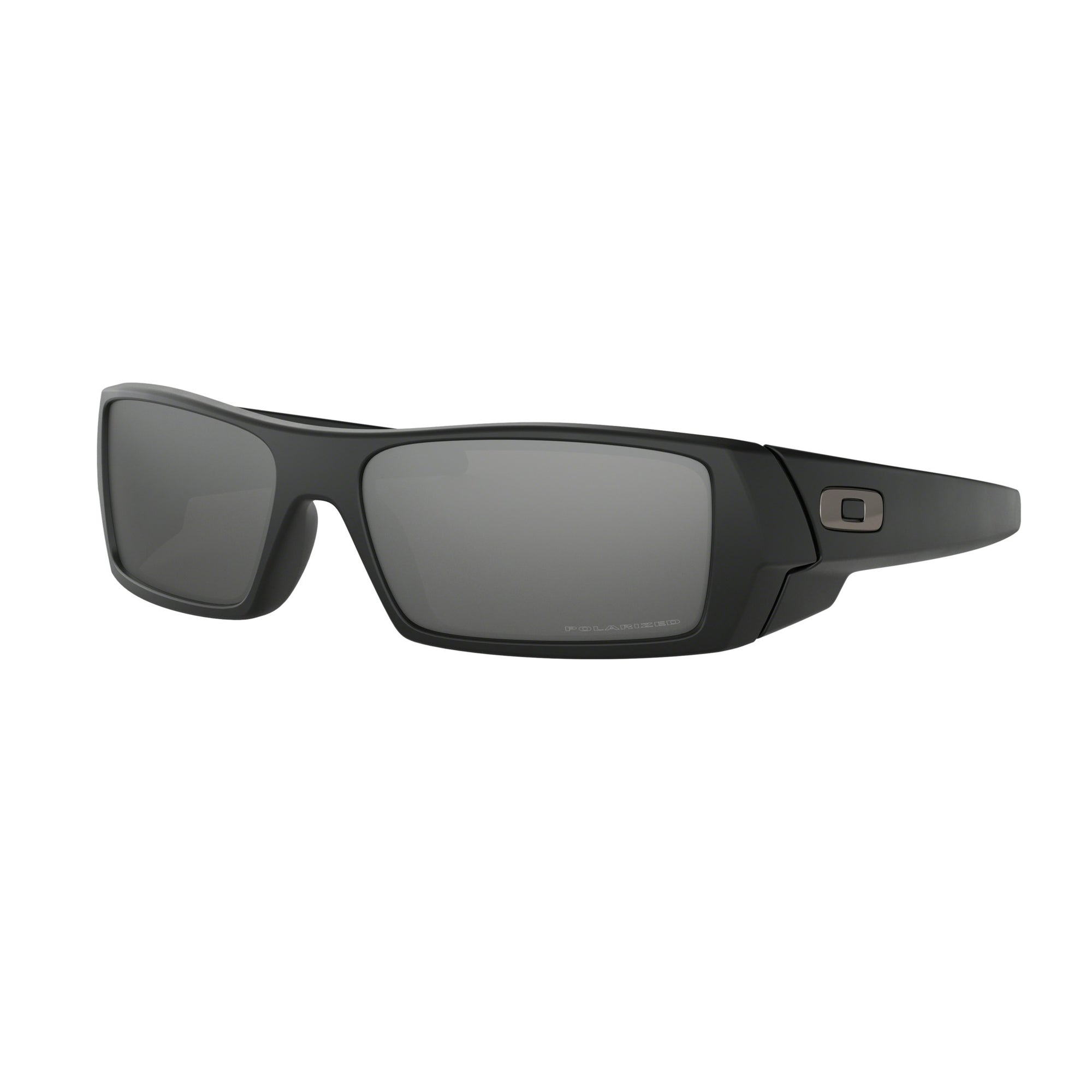 Oakley Gascan Men's Sunglasses - Polarized - Matte Black/Black Iridium