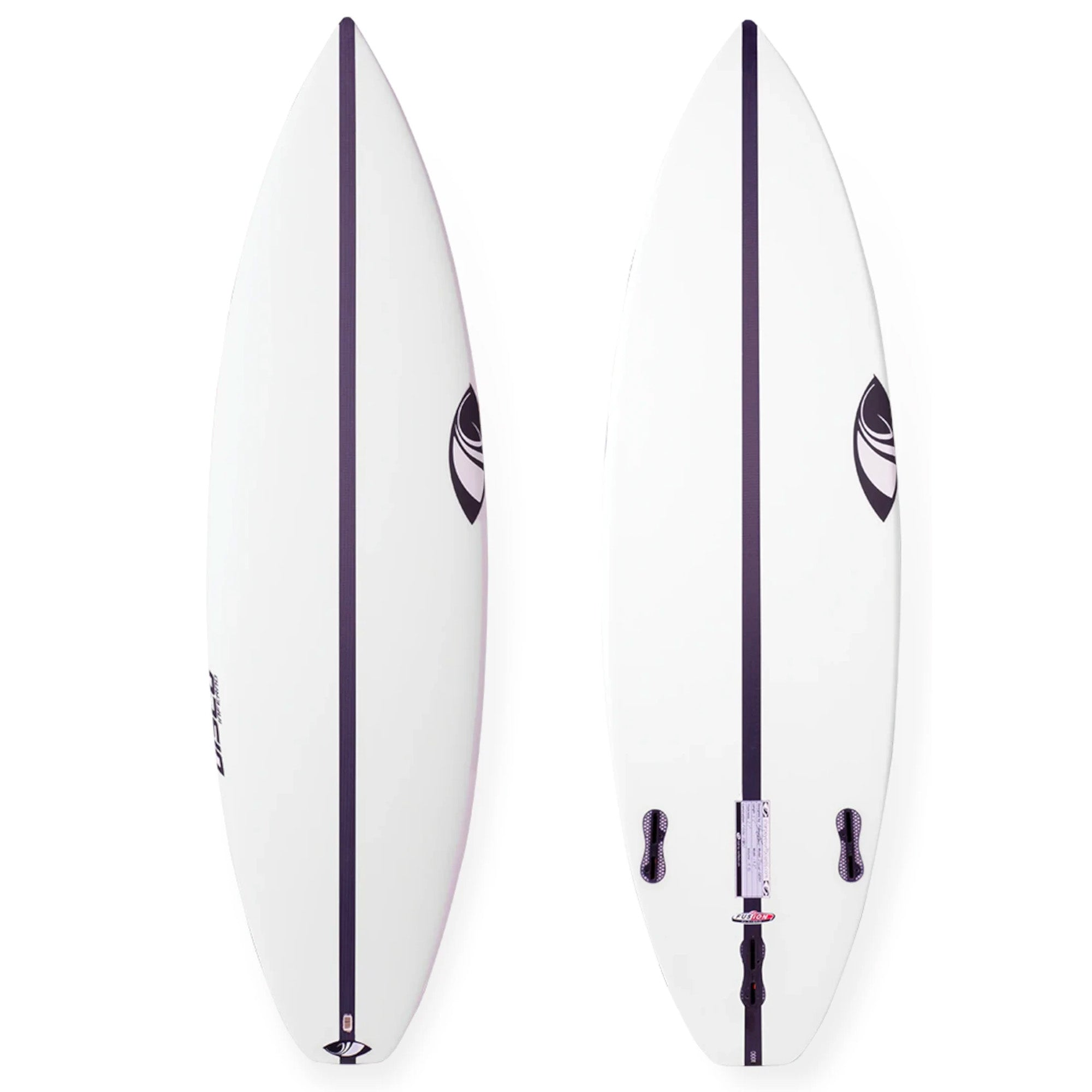 Sharp Eye Disco Inferno Grom Fusion E2 Surfboard - FCS II