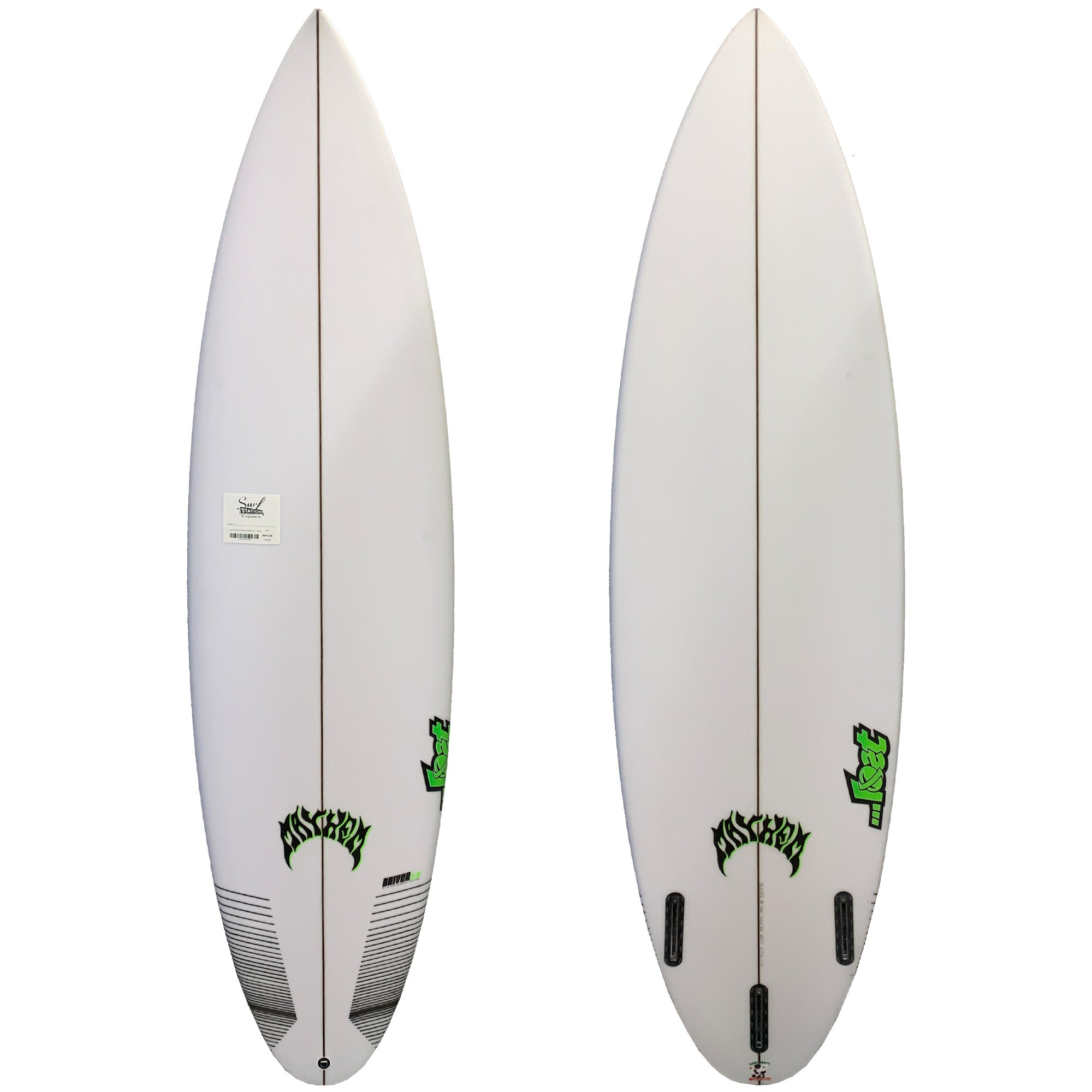 Lost Driver 2.0 Round Surfboard - Futures