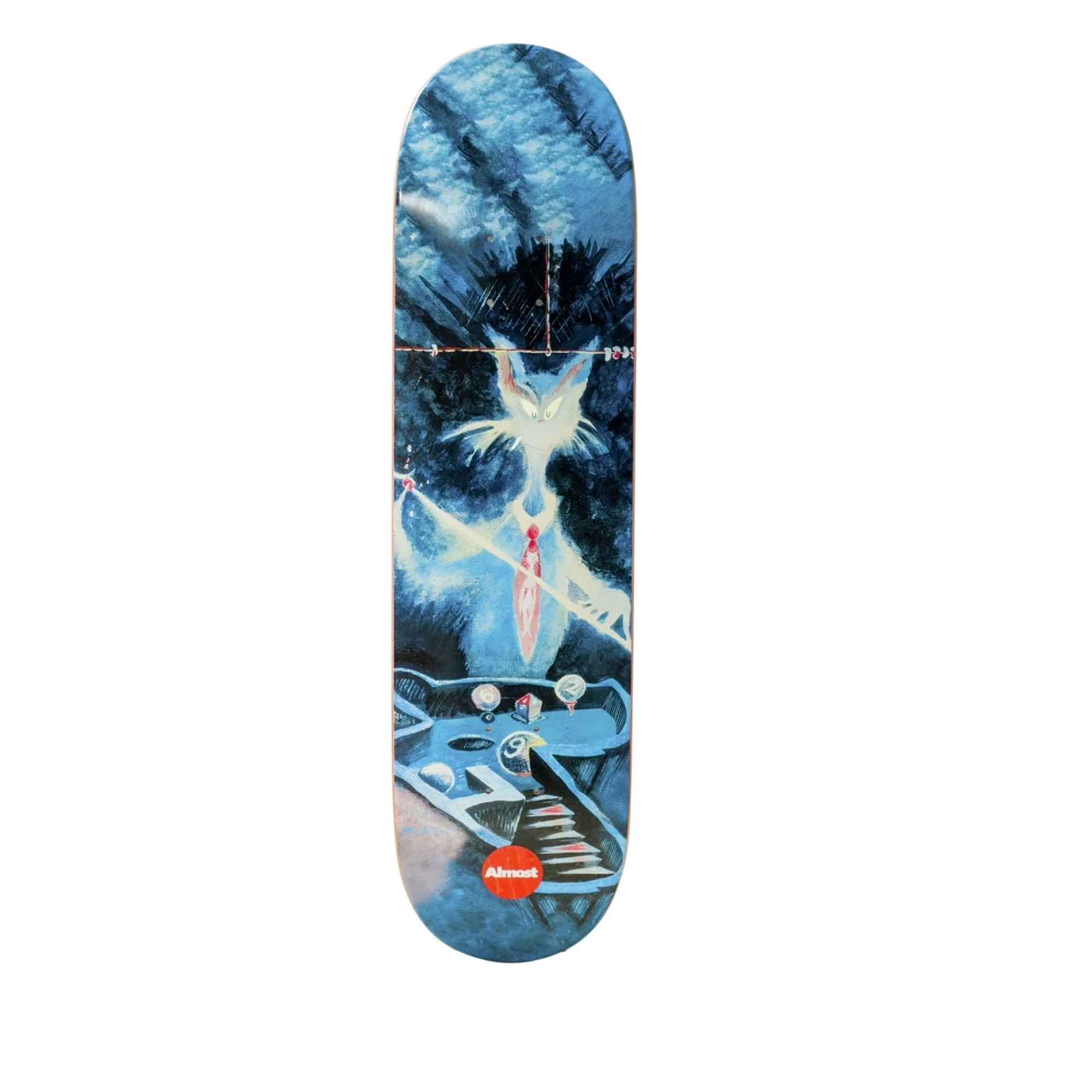 Almost Youness Dr Seuss Art 8.5 Skateboard Deck(Special Order for Chase)