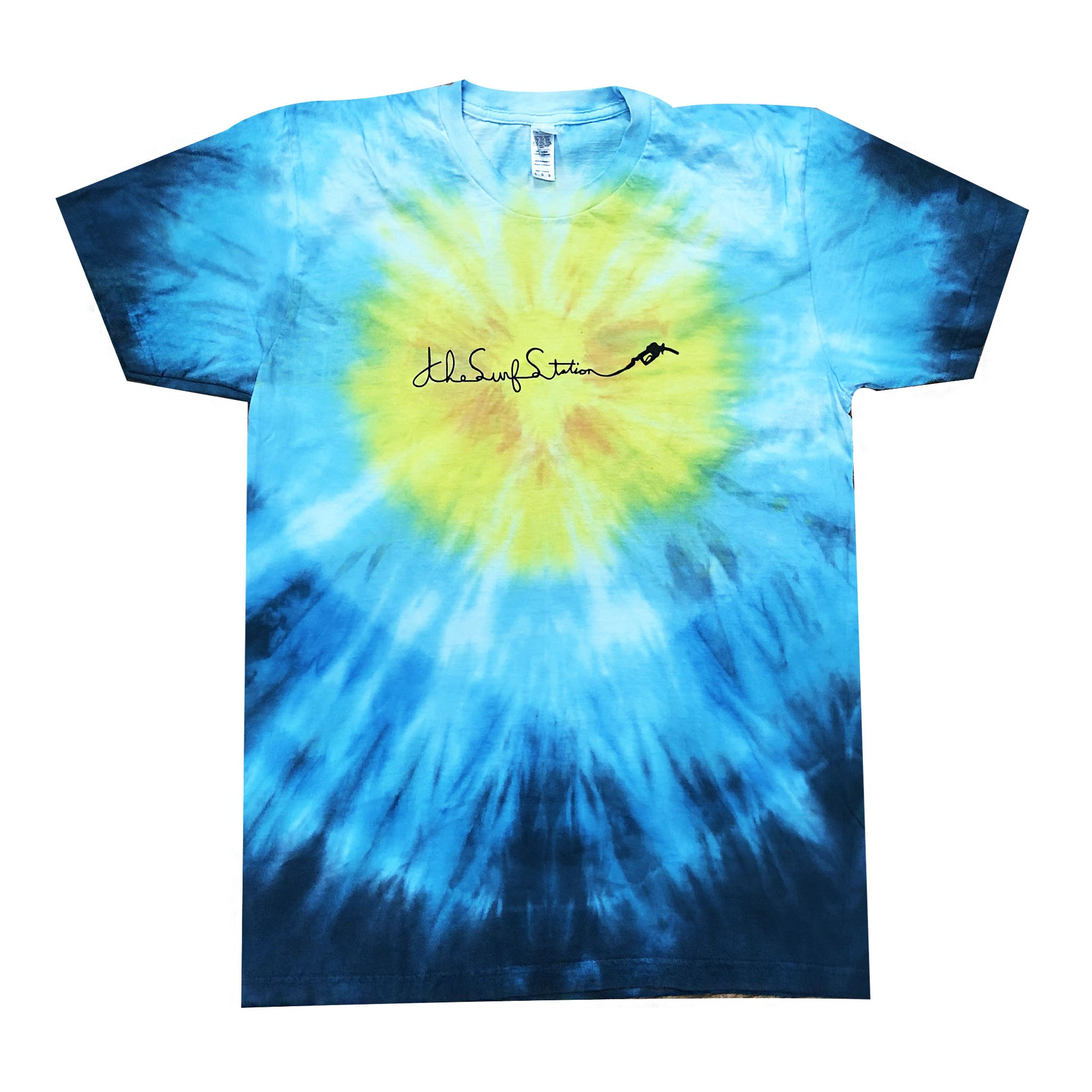 Surf Station Paisley Tie Dye S/S T-Shirt