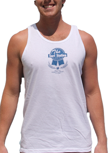 Surf Station Pabst Surf Co Men's Tank Top