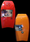 Custom X X3 Bodyboard, 41.75'', Polypro Core, Red/Orange