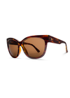 Electric Danger Cat Women's Sunglasses - Gloss Tortoise Frame/OHM Bronze Lens