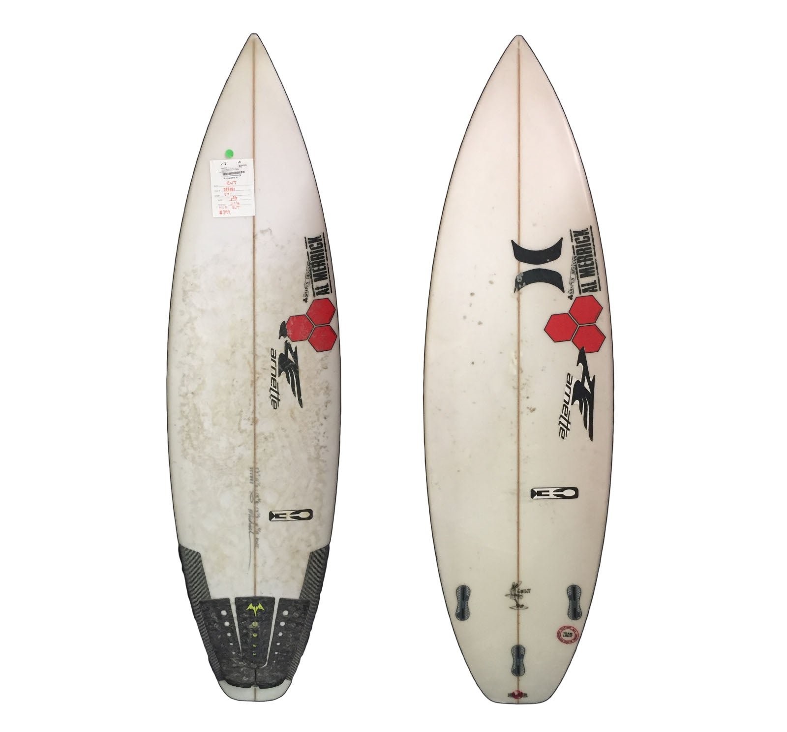 Channel Islands Girabbit RWT 5'9 x 18 3/8 x 2 3/16 Used Surfboard (Team Custom For Michael Dunphey)