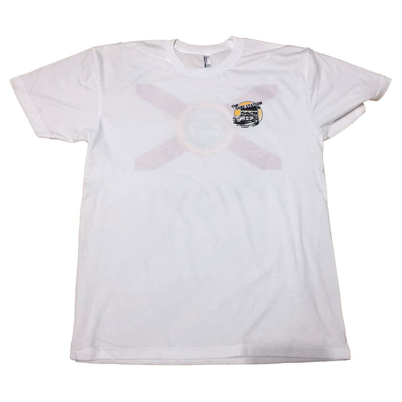 Surf Station Florida Flag Logo Men's S/S T-Shirt