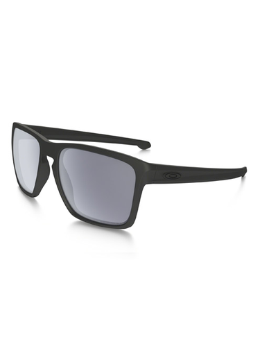 Oakley Sliver XL Men's Sunglasses - Polarized - Matte Black/Grey