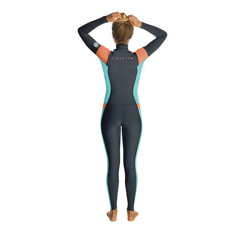 Rip Curl Dawn Patrol 4/3 Women's Chest-Zip Fullsuit Wetsuit