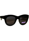 Dot Dash Headspace Women's Sunglasses - Black Frame/Grey Lens