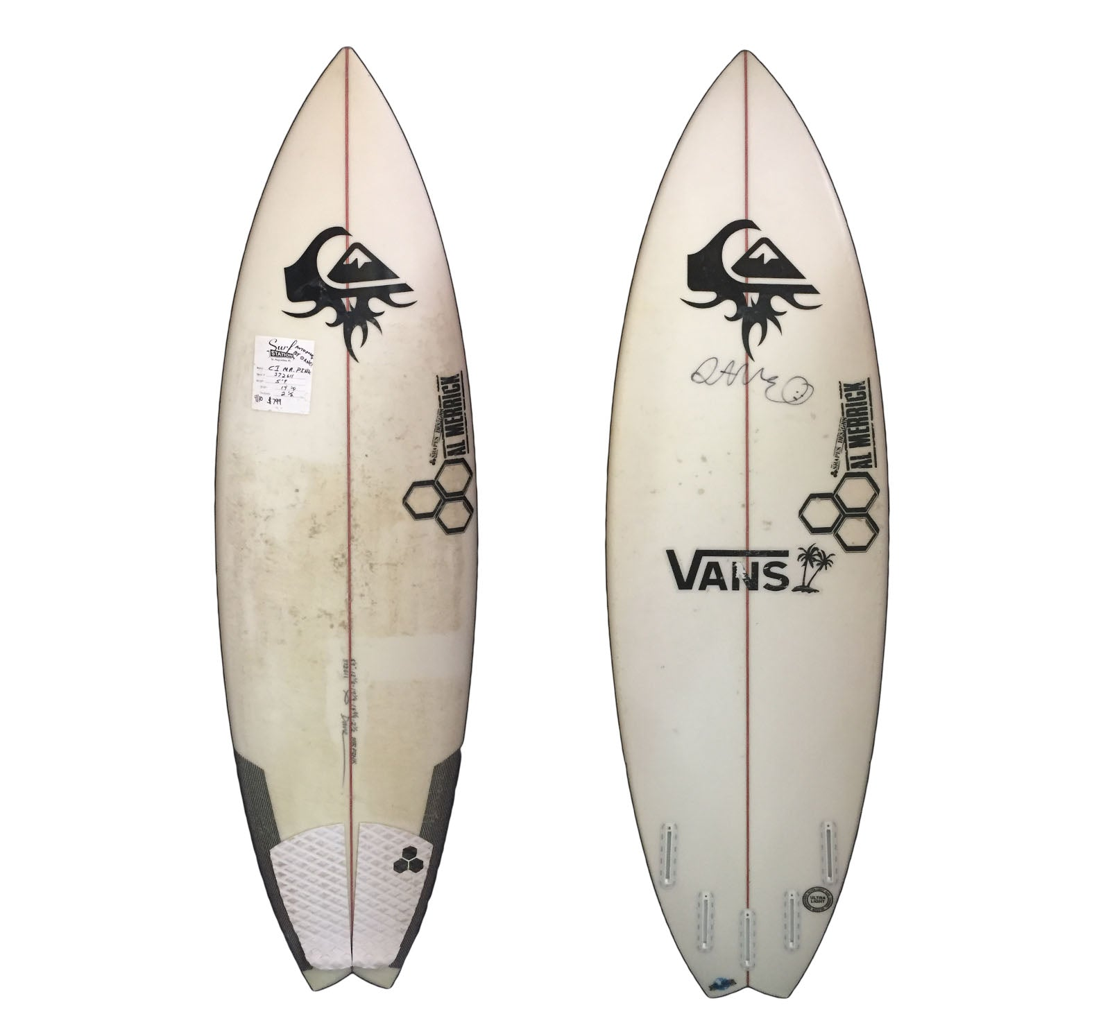 Channel Islands Mr. Pink 5'9 Collector Surfboard
