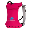 "DolfinPack Lightweight, Waterproof Hydration Pack (Version 2) "" Pink / Grey"