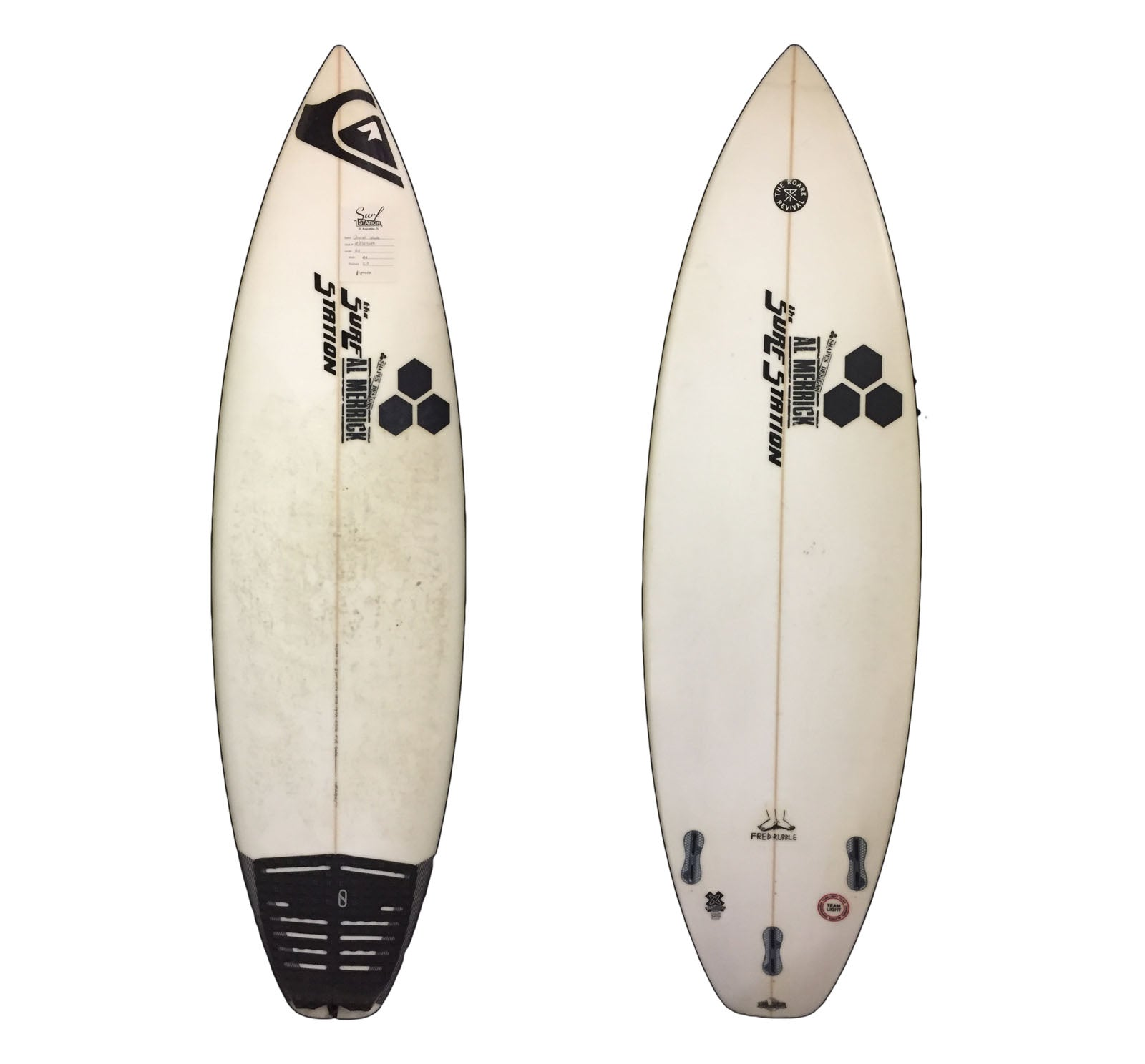 Channel Islands Fred Rubble 5'10 Used Surfboard