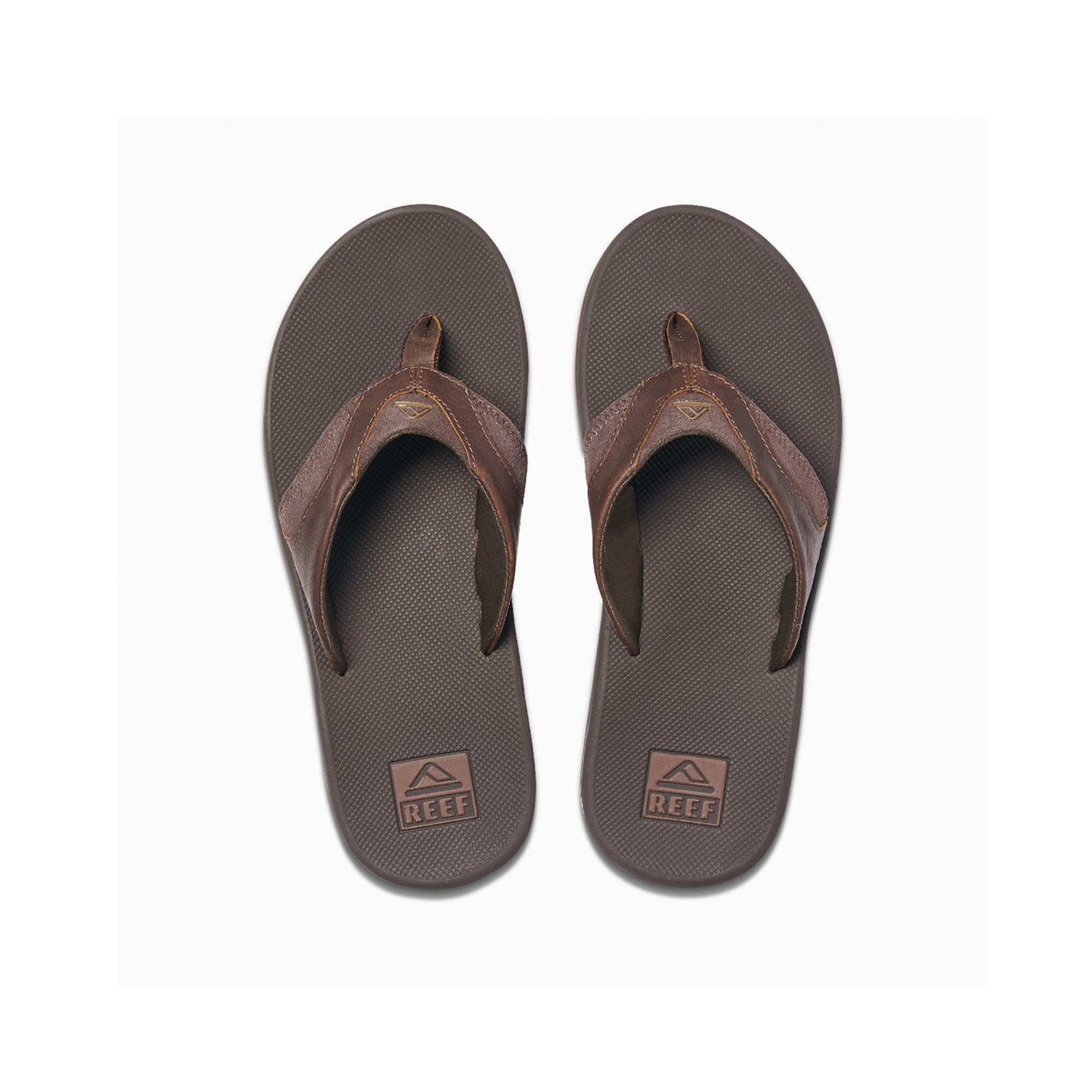 Reef Leather Fanning Men's Sandals