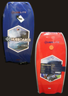 Hubb Lite 36 Bat Tail Bodyboard (Leash Included) - Dark Blue