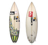 Channel Islands Rookie 5'4 x 16 7/8 x 2 Used Surfboard (glass on fins)(Autographed by Kanoa Igarashi)